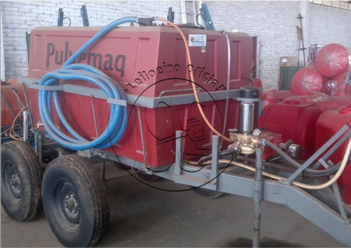 Dez pulverizadores hidráulicos