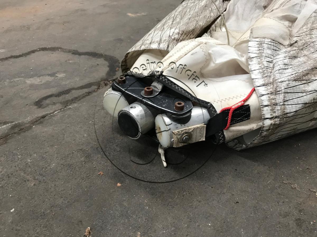 Asa Delta para Trike, motor Trike Rotax 503, partida manual