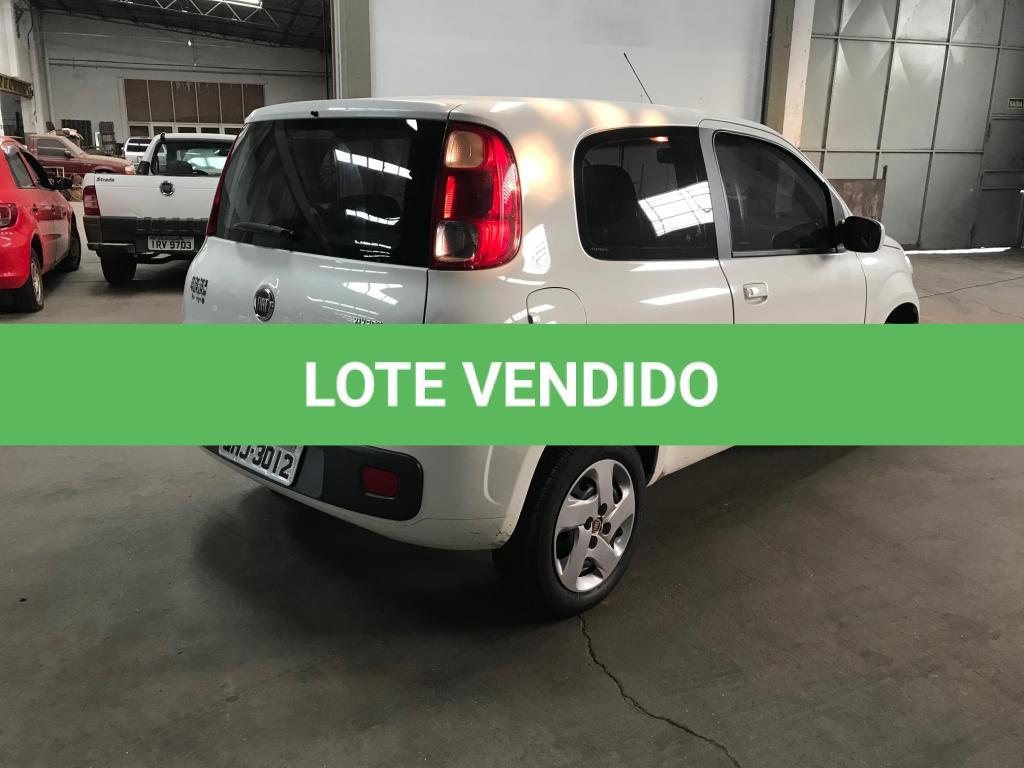 LOTE 05 - FIAT/UNO VIVACE 1.0, ano/modelo 2015/2015