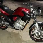 LOTE 006 - Motocicleta YAMAHA/FAZER YS250, ano/modelo 2007/2008
